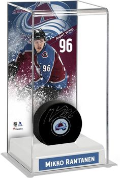 f01899401 Autographed Mikko Rantanen Avalanche Puck Fanatics Authentic COA  Item 9189928