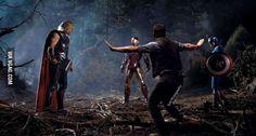 Calm down, boys! Chris Pratt is here. (omg yes)