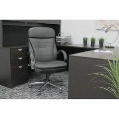 Boss Office Products Deluxe Executive Chair Tilt: Spring Tilt