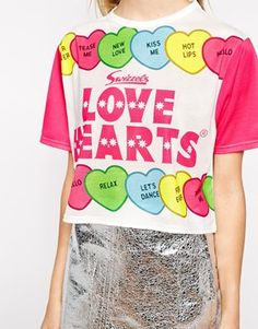 Love hearts top <3