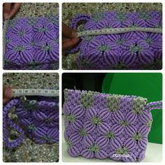 #wallet #handmade #purple