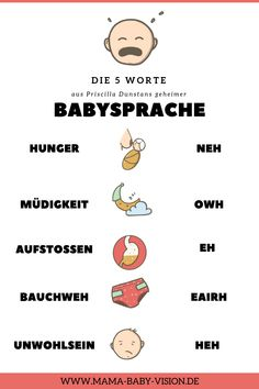 5 Worte, die du unbedingt kennen musst, bevor dein Baby geboren ist Baby Care take good care of my baby Crying In Sleep, Crying At Night, Baby Massage, Dunstan Baby Language, Baby Vision, Baby Care Tips, Nursing Tips, Baby Supplies, Baby Arrival