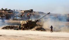 Vormarsch auf Mossul: Vor über einem Monat startete das irakische Militär,...