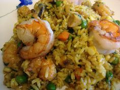 4th generation peruvian recipes: arroz con mariscos