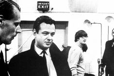 George Martin, Brian Epstein, John Lennon There are no Beatles as we know them w/o George Martin RIP