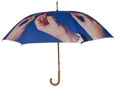 Lipstick Umbrella by Seletti x Toilet Paper   Umbrellas   AHAlife.com