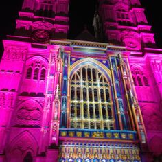 Lumiere London 2016,Westminster Abbey 4