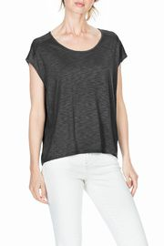 Seamed Scoop Neck -