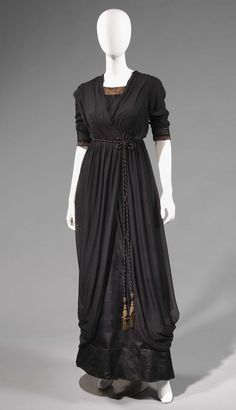 "Reception dress ca. 1912-14 From the exhibition ""Defying Labels: New Roles, New Clothes,"" at Lyndhurst via Irenebrination"