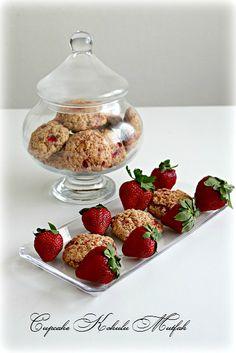 Cupcake Kokulu Mutfak: Çilekli kurabiye
