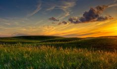 Sand Hills Prairie Sunset