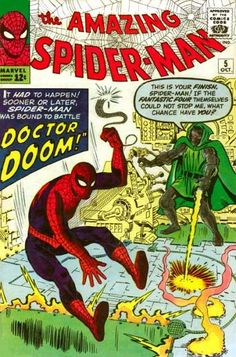 Amazing Spider-man by Stan Lee and Steve Ditko part of the formula that made Marvel Great. Marvel Comics, Marvel E Dc, Old Comics, Marvel Comic Books, Comic Books Art, Comic Art, Marvel Universe, Marvel Villains, Book Art