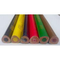 6 darabos, vastag, háromszögletű színes ceruza készlet Triangulo - Színes ceruzák - 629Ft - Színes ceruza készlet