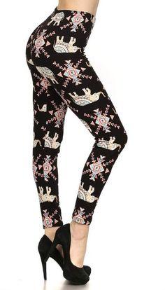986fe5cf22216a Print Leggings Raisin' Ducks (R945W Extra Plus (1X-3X / Size 14W-22W ...