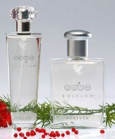 Allure your senses with the fresh & aromatic fragrances of 25th Edition® Cologne Spray for Men & 25th Edition® for Women, which has a fresh, white floral bouquet that blends sheer petals with warm, musky woods to create a soft & deep feminine character. Expertly blended & created especially for Forever Living, each scent captures its essence in a subtly pleasing elixir. www.mairemtd.flp.com