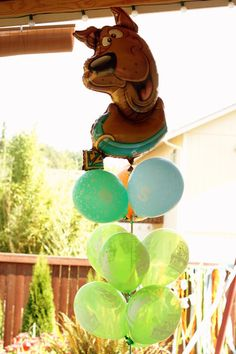 Photo 3 of 66: Scooby Doo / Birthday Scooby Balloon for decor