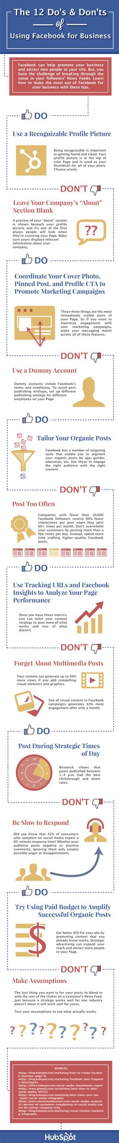 12 top tips for using Facebook to promote your work