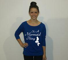 It's A Mermaid Thing sweatshirt. Mermaid by strongconfidentYOU