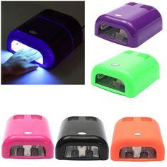 36W Salon Nail Polish UV Lamp Acrylic Gel Curing Light Manicure Dryer Timer