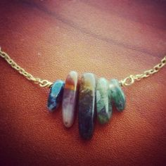 Check out this item in my Etsy shop https://www.etsy.com/listing/223634195/ocean-jasper-necklace  #jasper #necklace #gem #crystal