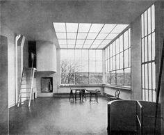 Le Corbusier -Ozenfant House - interior.