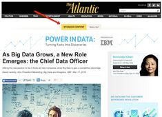Example of IBM's branded content on The Atlantic