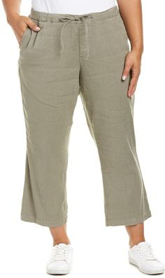 Linen And Silk-blend Twill Drawstring Trousers - GreenP. Johnson 2018 Unisexe 8Q3HNRi