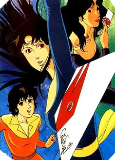 Cat's eye - occhi di gatto #80s #anime