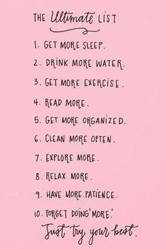 happiness list #selflove