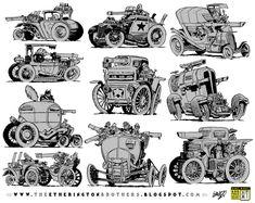 10 Weird War Machine concepts by STUDIOBLINKTWICE on DeviantArt