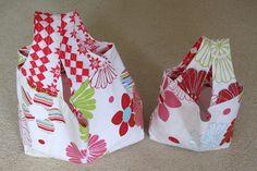 Couture à la maison - Sewing at home: Grocery Bag de KeykaLou - Sac à commission