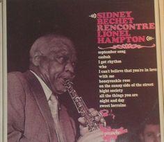 Sidney Bechet Rencontre Lionel Hampton Vinyl Jazz Record Album French Pressing