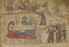 """The Nativity and The Adoration of the Magi Armenian, Lake Van, """"Turkey"""", 1386"""