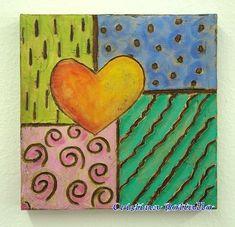 tela coração