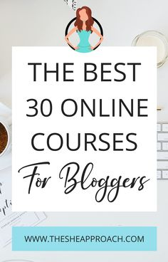 If you are a blogger then you need to know that there is always something new to learn even if you are a beginner or no! In this post I will show you The Best 30 Online Courses For Bloggers & Why these courses it is very helpful for you! #bloggingtips #coursesforbloggers #makemoneyblogging Blog Writing Tips, Best Online Courses, Make Money Writing, Blog Online, Writing Challenge, Thing 1, Online Business, Business Tips, Blog Topics
