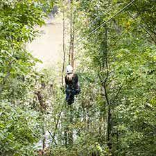 Riverbanks Zoo Zip Line