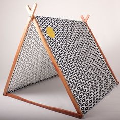 Wonder Tent & Clothes Rack Conversion Kit (Navy Geometric - Organic Cotton Canvas) via Etsy Diy For Kids, Cool Kids, Crafts For Kids, A Frame Tent, Deco Kids, Kids Tents, Kid Spaces, Boy Room, Kids Playing