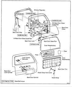 Car Door Latch Schematic
