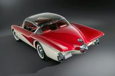 1956 Buick Centurion Motorama.  rear back up camera, 60 years ahead of its time.
