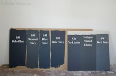 Hello Navy! Colors for a Moody Living Room - Hello Farmhouse