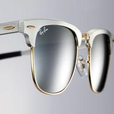 Ray-Ban Clubmaster Aluminum Ray Ban Brille, Schöne Brillen, Anziehen,  Herrenschuhe, 3ebd7b689ae8