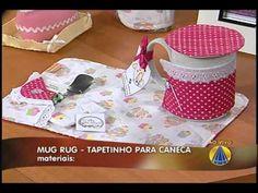 Mug rug: tapetinho para caneca | Sabor de Vida - 20 de Julho de 2012