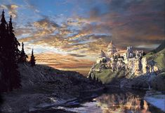 Cair Paravel (Well, it didn't fit any other category, and if it were real I would want to visit/live there).
