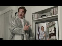 Watch the awesome clip HERE | Huey Lewis Has Remade THAT Scene From 'American Psycho'