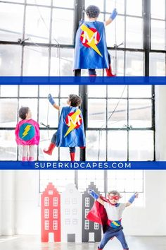 Check out our handmade superhero capes with custom color combinations and your child's initial. Our unique superhero capes and accessories are prefect for Halloween, birthday parties, dress-up days, party favors, or pretend play. Our hand-sewn capes comes in over 20 color combinations and are the prefect fit for boys and girls of all ages and sizes! Let us help make your day special with our handmade superhero costumes! Start your adventure today at superkidcapes.com! Superhero Capes For Kids, Superhero Dress Up, Superhero Party, Green Gloves, Halloween Birthday, Halloween Costumes For Kids, Birthday Gifts For Boys, Birthday Parties