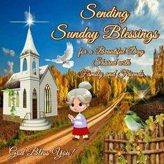 Sending Sunday Blessings