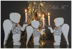 erhältlich hier: http://de.dawanda.com/product/107926035-reserviert-fuer-belaboese  Silvi K., Handarbeit, Holz, Engel, Weihnachtsengel