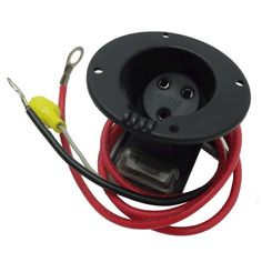 Club Car 48 Volt Charger Receptacle and Fuse Assembly | Electric Golf Cart Parts Golf Cart King, LLC http://www.amazon.com/dp/B008BCDRCW/ref=cm_sw_r_pi_dp_6HDZtb09Y16RTSNB