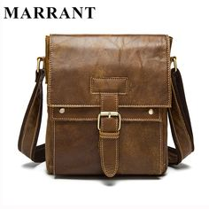 MARRANT Genuine Leather Men Bags Hot Sale Male Small Messenger Bag Man Fashion Crossbody Shoulder Bag Men's Travel New Bags 9040 >>> Check this awesome product by going to the link at the image.