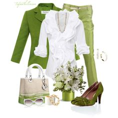 """""""Floral Inspirations"""" by tufootballmom on Polyvore"""
